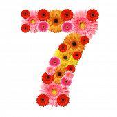 foto of arabic numerals  - 7 - JPG