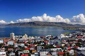 Centro de Reykjavik, Islandia.