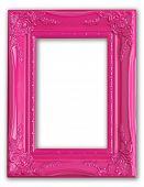 Постер, плакат: Довольно розовый рамка