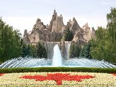 Canada's Wonderland Amusement Park Entrance
