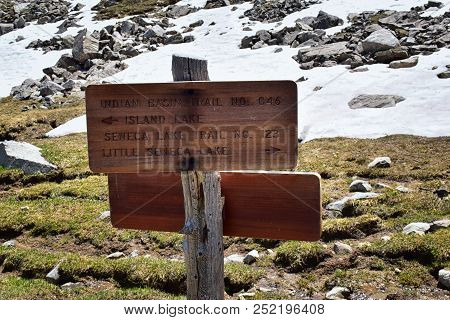 Continental Divide Trail Sign In