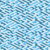 Labyrinth (maze). Vector seamless wallpaper. All colors easy for change