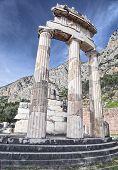Rotunda Of Temple Of Athena In Delphi