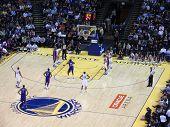 Pistons Jason Maxiell Sets To Shot Free Throw Shoot