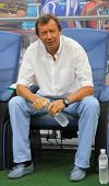 Fc Dynamo Kyiv's Manager Yuri Semin Looks