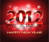 stock photo of new years  - New Year Eve 2012 Background - JPG