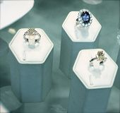 Diamond And Sapphire Rings