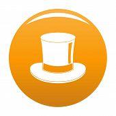 Magic Cylinder Icon. Simple Illustration Of Magic Cylinder Icon For Any Design Orange poster