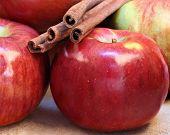 Cortland Apples And Cinnamon Sticks