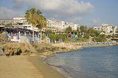 Coral bay resort on Cyprus