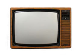 picture of tv sets  - 70s style tv set - JPG