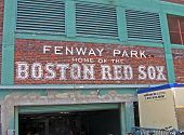 Boston Apr 20: Fenway Park am 20. April 2012 in Boston, Usa