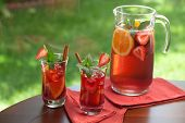 Spicy Strawberry Sangria poster