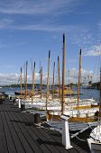 Traditional Sloops In Karlskrona Marina