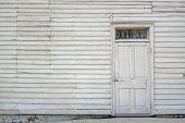 Whitewash Door