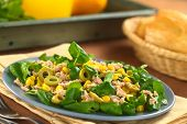 Tuna Olive Sweetcorn Salad