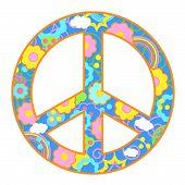 Peace Symbol Happy Theme