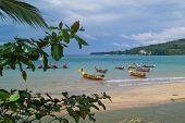 An idyllic island bay
