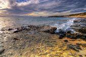 Sunset ponto Peron, Perth Austrália