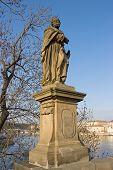 Sculpture Of Saint Judas Thaddeus, Prague, Czech Republic