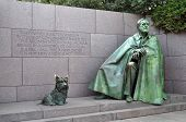 Franklin Delano Roosevelt Memorial in Washington, DC