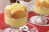 Bnaana Pudding With Cookies