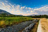 Cemetery Ruins In The Ancient Town Of Salona Near Split, Croatia
