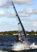 Sailboarding In Florida