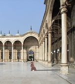 Inside Mosque Of Muhammad Ali