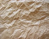 Crumpled Paper Brown