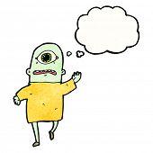 Cartoon-Zyklop-monster