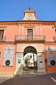 Palazzo della Corte. Melfi. Basilicata. Itália.