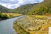 St George River And The Valley Near Lorne Victoria