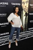 LOS ANGELES - AUG 4: Denyce Lawton at the World Premiere of Takers, held at the Arclight Cinerama Do