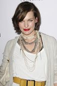 LOS ANGELES - JAN 28: Milla Jovovich at the Calvin Klein Collection & LA Nomadic Division 1st Annual