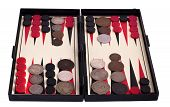 Backgammon And Old Coins