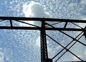 Overhead Railroad Track