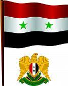 Syria Wavy Flag