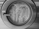 Máquina de lavar com sabão