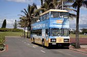 Tourist Ricksha Bus In Durban South Africa