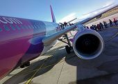 Wizzair Airbus A320 Aircraft