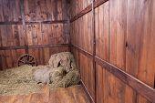 Rural barn background