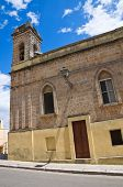 Sanctuary of SS. Cosma e Damiano. Ugento. Puglia. Italy.