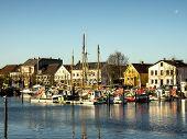 Eckernfoerde In Germany, The Old Harbor