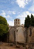 Church Of Saint Honoratus (xiii C.) In Arles, France