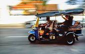 Tuk-tuk Taxi In Bangkok