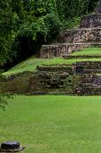 Постер, плакат: Ancient Maya ruins Lamanai Belize