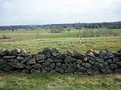 Stone Wall Fence
