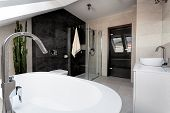 Urban Apartment - Bathroom Interior