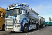 Scania R580 Tank Truck